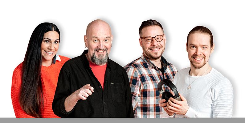 Radio Keskisuomalainen juontajat